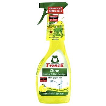 Очиститель Frosch для ванны и душа лимон 500мл - купить, цены на Космос - фото 1