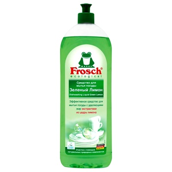 Frosch Dishwashing balm Green lemon 1l