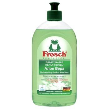 Frosch Aloe Vera Dishwashing liquid 500ml - buy, prices for Auchan - photo 3