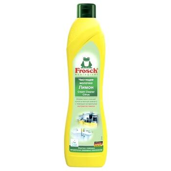 Молочко для чистки Frosch Лимон универсальное 0,5л