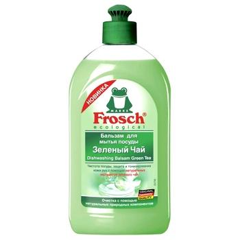 Бальзам для мытья посуды Frosch Зеленый чай 500мл - купить, цены на Varus - фото 1