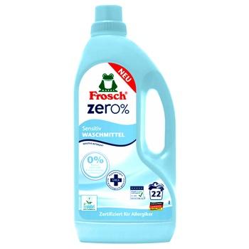 Засіб Frosch Zero для прання 1,5л - купити, ціни на Ашан - фото 1
