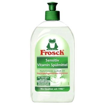 Бальзам-концентрат Frosch для мытья посуды для чувствительной кожи 500мл - купить, цены на Novus - фото 1