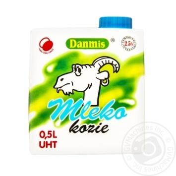 Молоко Данмис козье натуральное 2.5% 500г