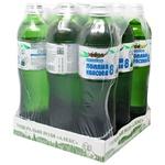 Вода Алекс Поляна Квасова-8 мінеральна лікувально-столова гідрокарбонатна натрієва борна 0,5л упаковка 9шт