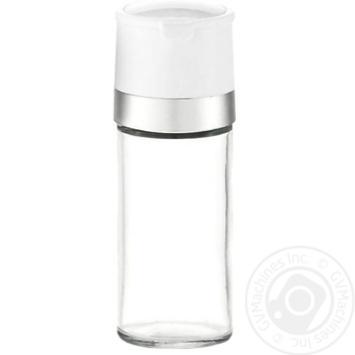 Млинок для солі/перцю Zeller 4,5х12,5см білий - купити, ціни на МегаМаркет - фото 1