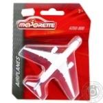 Majorette Toy Metal Plane 13cm assortment