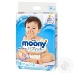 Подгузники детские Moony М 6-11кг 64шт