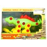Конструктор-динозавр Polesie стегозавр 35 элементов - купить, цены на Таврия В - фото 1