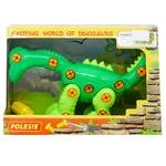 Конструктор-динозавр Polesie диплодок 35 элементов
