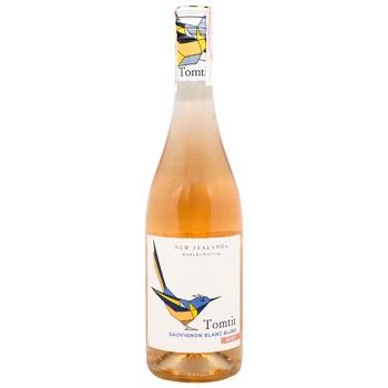 Вино Tomtit Marlborough Sauvignon Blanc розовое сухое 12,5% 0,75л