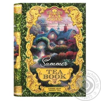 Чай зелений Sun Gardens Книга Summer 100г - купити, ціни на Novus - фото 1