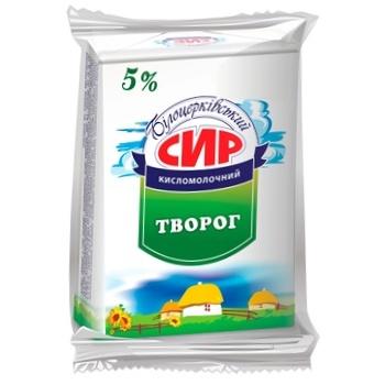 Сир кисломолочний Білоцерківський 5% 200г - купить, цены на Varus - фото 1