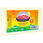 Масло Білоцерківське Селянское сладкосливочное 72,6% 400г