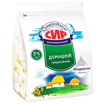 Сир кисломолочный Білоцерківський Домашній 5% 350г