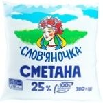 Slovianochka Sour Cream 25% 380g