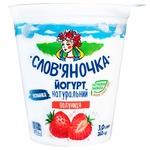 Slovyanochka Strawberry Yogurt 3% 260g