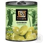 Оливки Елада з кісточкою ж/б 850мл х12