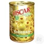 Оливки зеленые Oscar без косточки 300мл