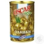 Oscar Green Olives with Anchovies 300g - buy, prices for Novus - image 1