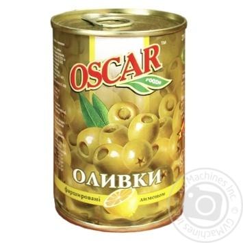 Oscar Olives with Lemon 300g - buy, prices for CityMarket - photo 2