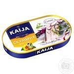 Kaija In Oil Fish Atlantic Mackerel - buy, prices for Novus - image 1
