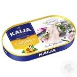 Kaija In Oil Fish Sardines - buy, prices for Novus - image 1