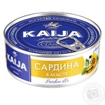 Kaija in oil fish sardines 240g