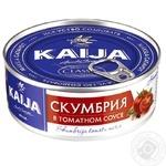 Скумбрия Kaija в томатном соусе 240г