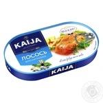 Лосось Kaija філе натуральне 170г