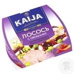 Лосось Kaija с овощами в пикантном соусе 220г