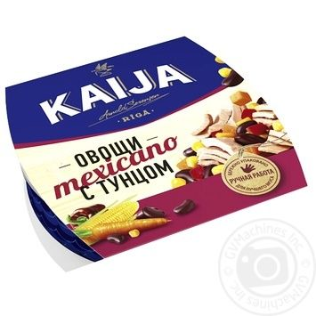 Kaija Mexicano Tuna with Vegetables 185g - buy, prices for CityMarket - photo 1