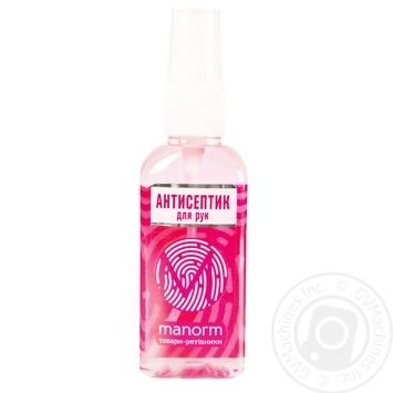 Manorm Coral Disinfectant Antiseptic for Hands 50ml - buy, prices for Novus - image 1