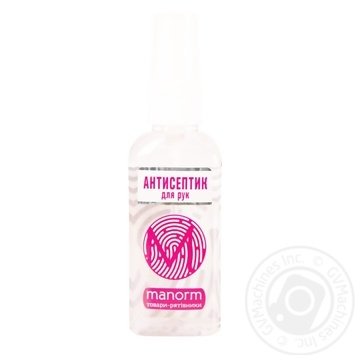 Manorm Crystal Disinfectant antiseptic refreshing hand for panthenol 50ml - buy, prices for Furshet - image 1