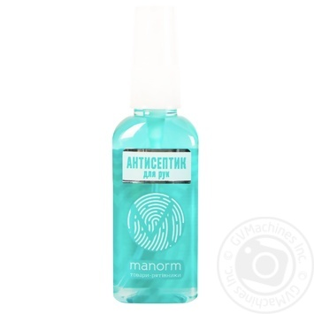 Manorm Malachite For Hands Disinfectant 50ml - buy, prices for Novus - image 1