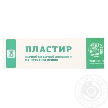 Пластир медичний Manorm на нетканій основі 1,9х7,2см 10шт - купити, ціни на Ашан - фото 3