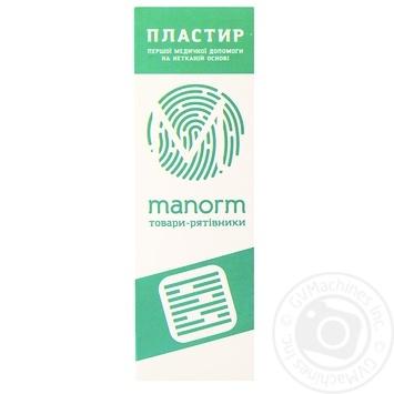 Пластир медичний Manorm на нетканій основі 1,9х7,2см 10шт - купити, ціни на Ашан - фото 4