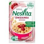 Каша овсяная Nesvita сладкая с молоком и кусочками вишни 45г