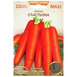 Семена Семена Украины морковь Сластена 10г