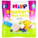 Hipp Organic Rice Crispbread with Blueberry and Apple 30g