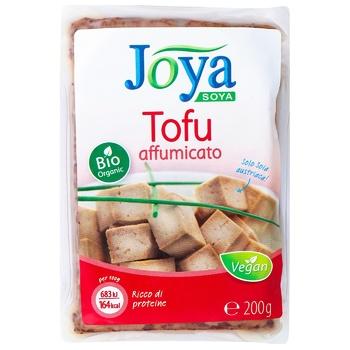 Сыр соевый Джоя Тофу в маринаде копченый 250г - купить, цены на Ашан - фото 1