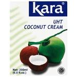 Сливки Kara кокосовые 24% 200мл