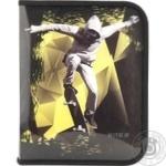 Папка Kite Cool Skateboarder об'ємна на блискавці В5