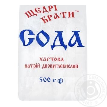 Сода пищевая Щедрые братья 500г - купить, цены на МегаМаркет - фото 1