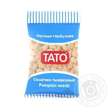 Насiння гарбузове ТАТО 100г - купити, ціни на МегаМаркет - фото 1