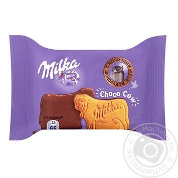 Milka in chocolate glaze cookies 40g - buy, prices for CityMarket - photo 1