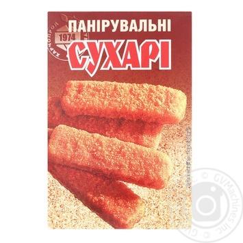 Сухари панировочные 200г - купить, цены на МегаМаркет - фото 1
