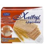 Khlebtsy-Udaltsy Borodynski Rye Crispbread 100g