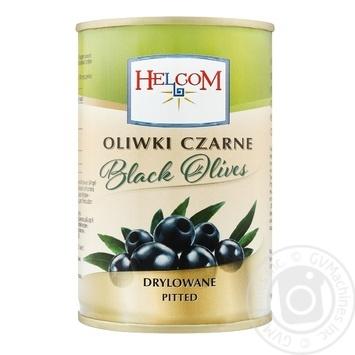 Маслины Helcom без косточки 300мл - купить, цены на Фуршет - фото 1