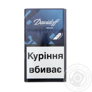 Сигареты Davidoff Reach 20шт - купить, цены на Фуршет - фото 1
